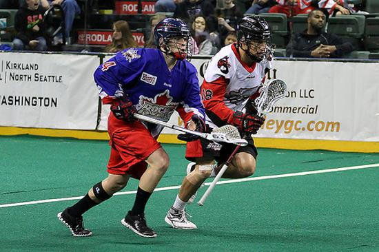 The Toronto Rock have re-signed defenseman Jesse Gamble to a one-year contract. Photo Credit: Richard Olson