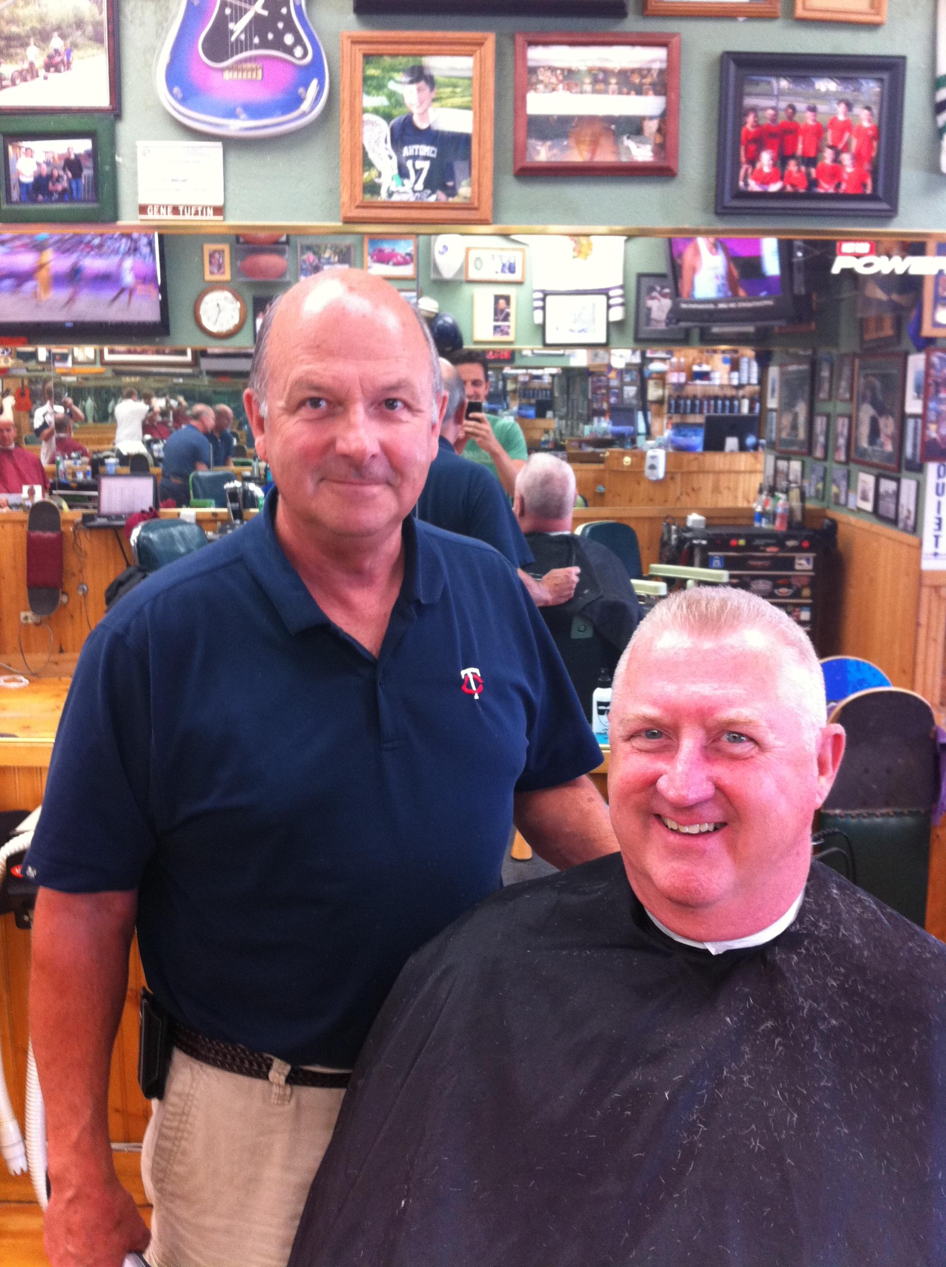 Dick at Dick's Barbers Edina Barbershop