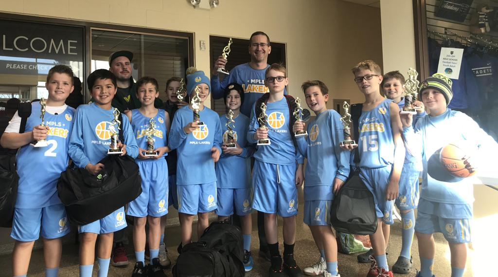 Boys 4th Grade Blue take 2nd at Cadet Classic