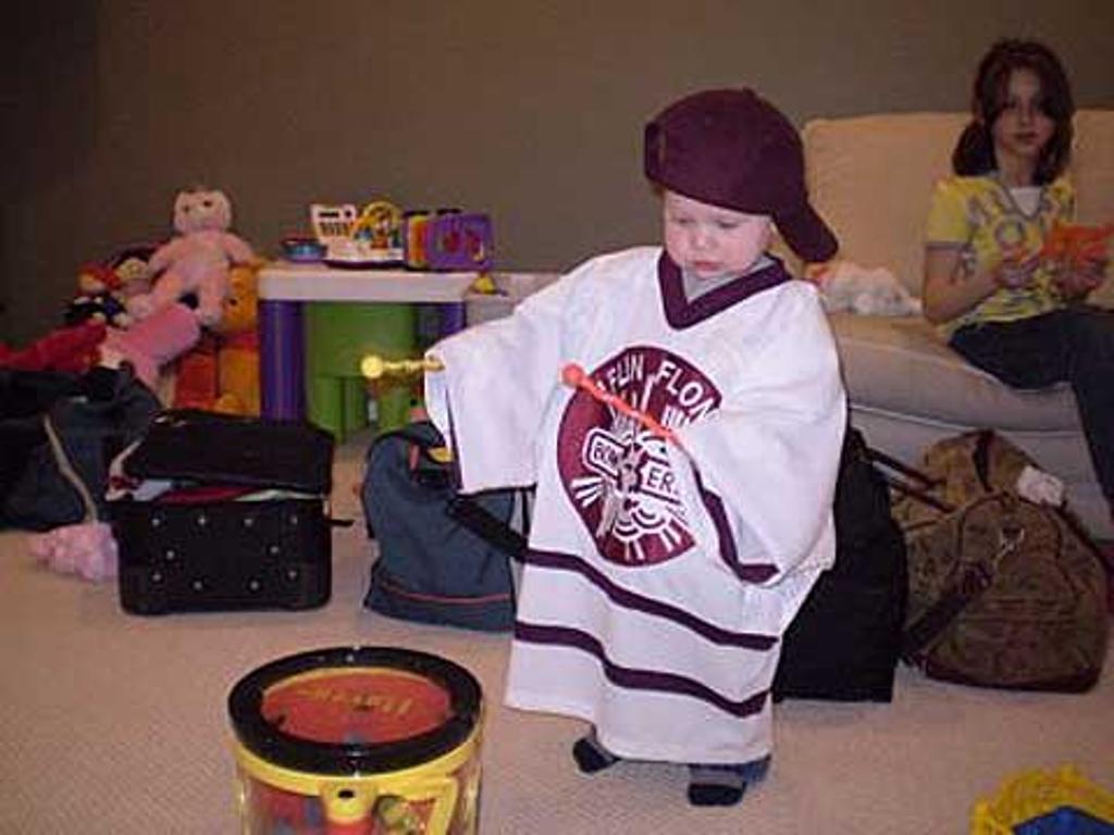Next Generation Mad Drummer Aidan Dow - grandson of Terry & Darlene
