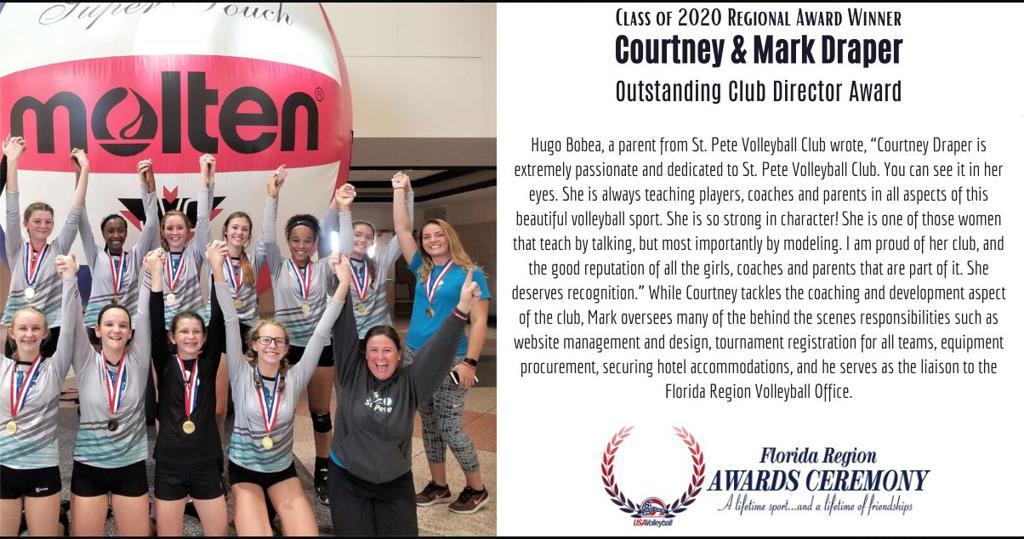 Outstanding Club Director Award
