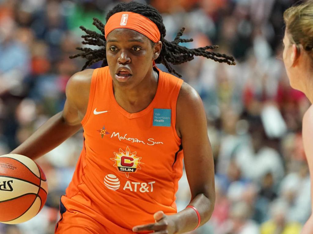 Sun center Jonquel Jones has won the 2021 WNBA MVP award