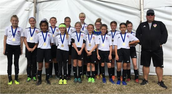 Congratulations to our U12G Team.  CAYSA Champions!!