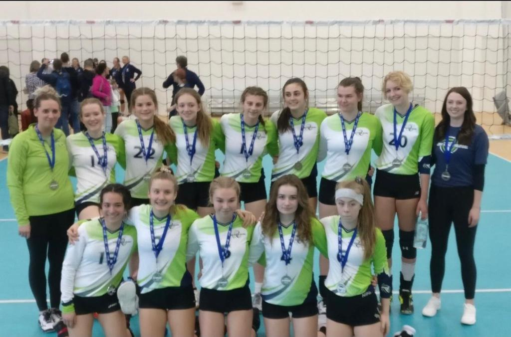 U15 Women Green Team - Premier 2 Div 3 Silver Medalists - Back To Back Premier Medals, Awesome Job Girls!