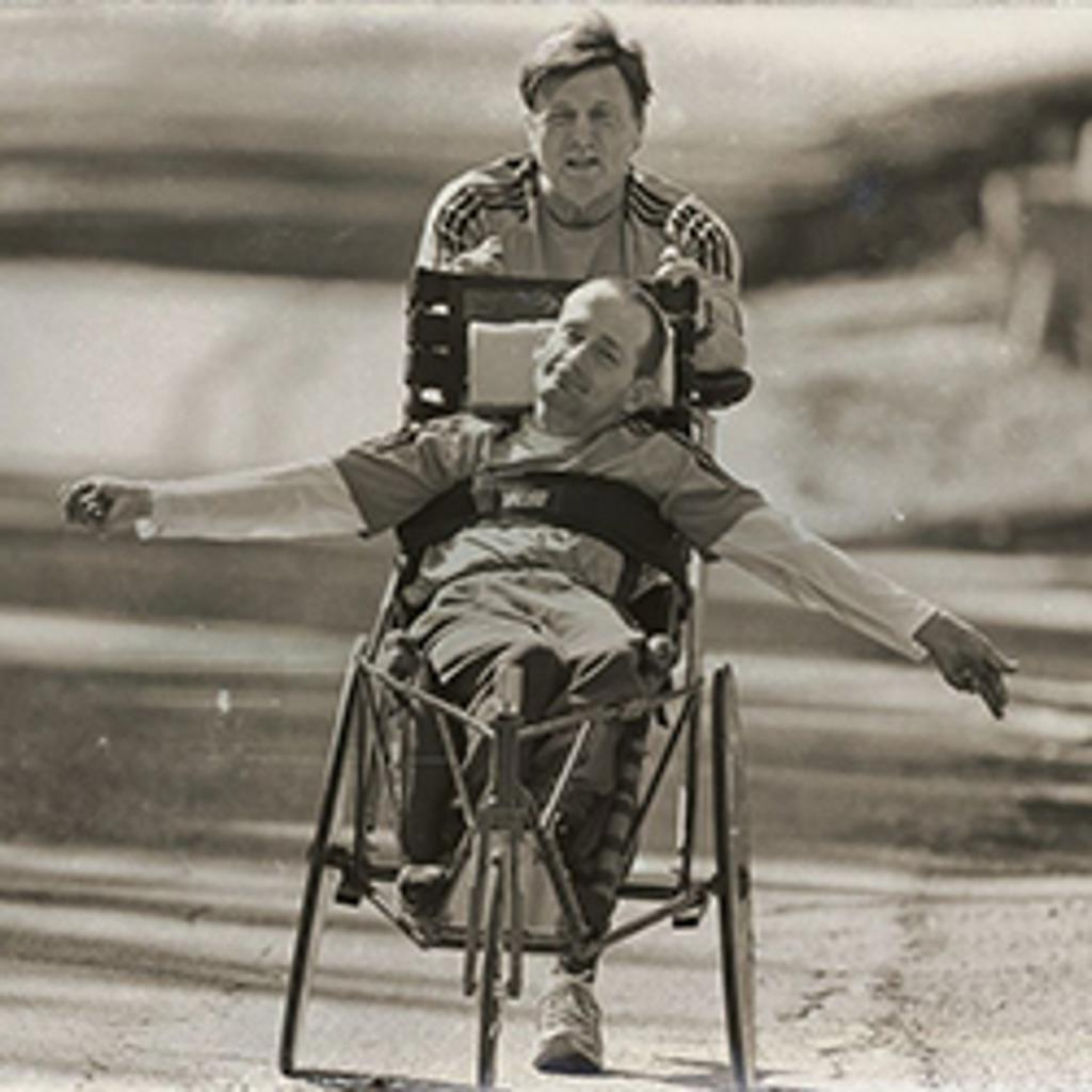 Photo of Team Hoyt - Rick and Dick Hoyt