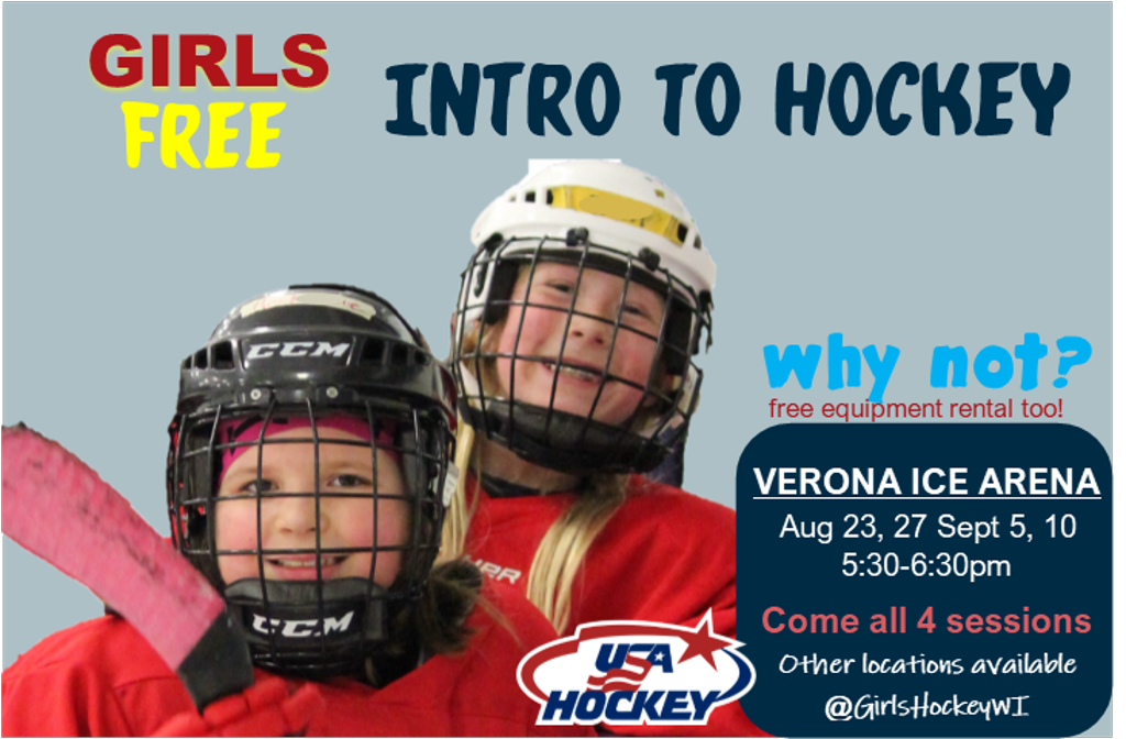 FREE - Girls Intro to Hockey