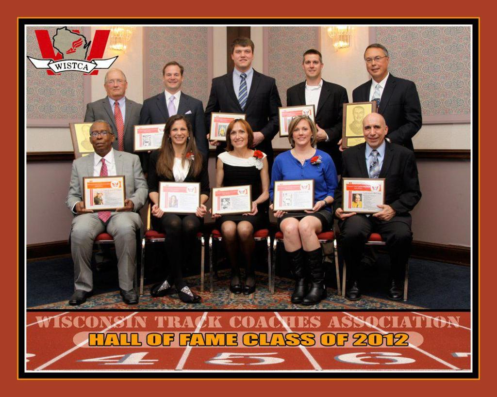 Photo of the WISTCA Hall of Fame Class of 2012