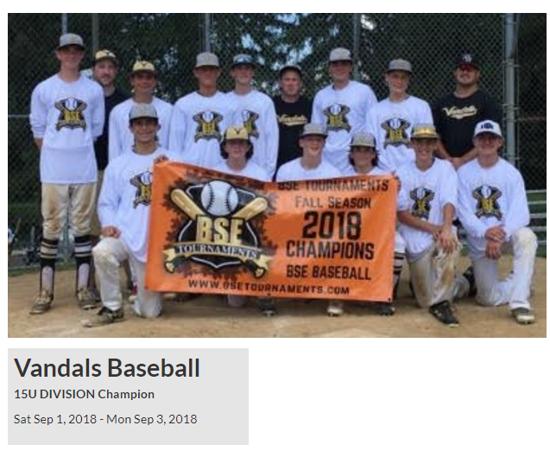 Youth Baseball Tournaments, Youth Baseball Tournaments Pa