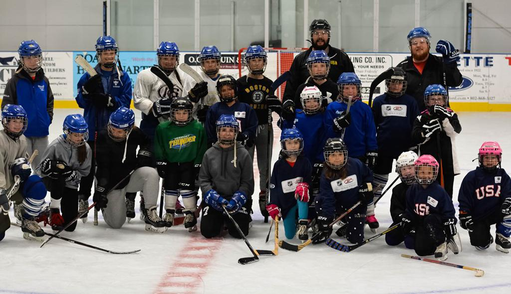 MAHA's Girls Try Hockey For Free was a huge success!  Lots of new faces!