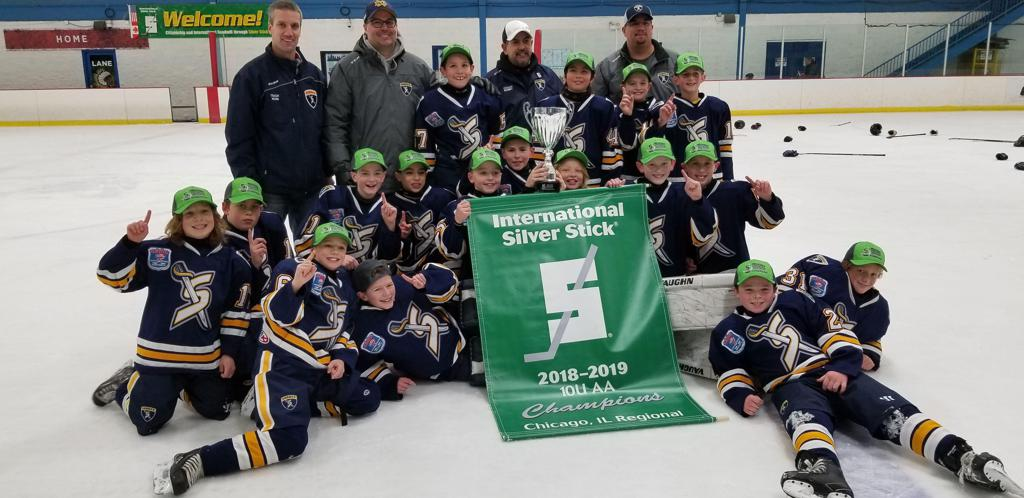 2018 Chicago Regional Silver Stick Squirt Champions - Naperville Sabres