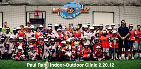 Paul Rabil Indoor/Outdoor Clinic