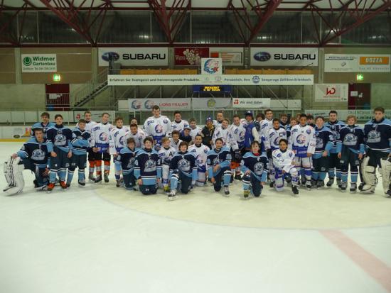 Predators Bantam Navy Team in Switzerland vs. Zurich Lions