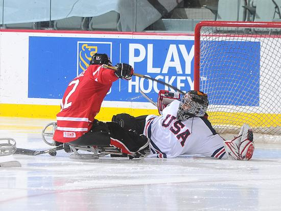 Steve Cash's play in net will be instrumental as Team USA seeks its third straight IPC World Championship gold medal.