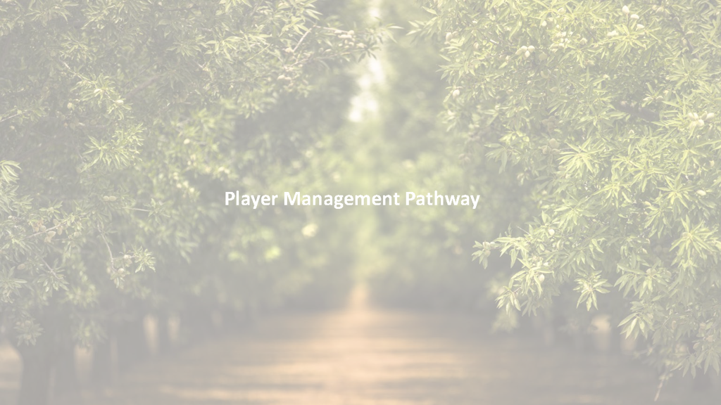 KNSC Player Management Pathway