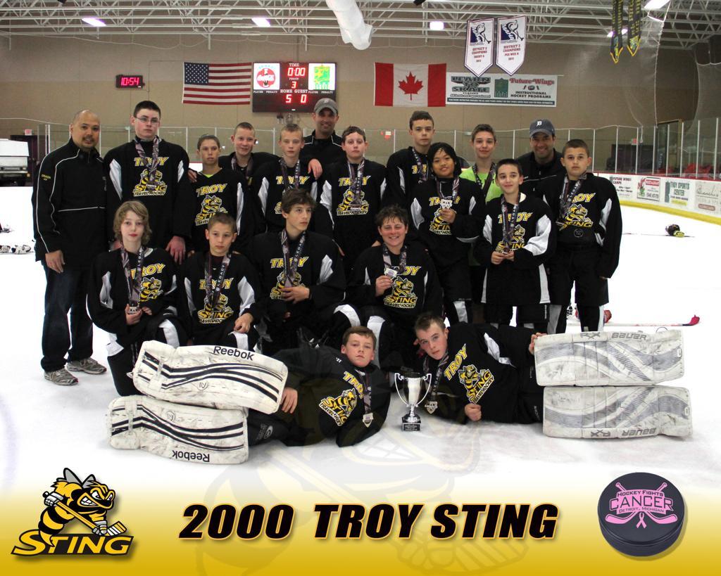 2013 Spring Hockey Fights Cancer- Finalist