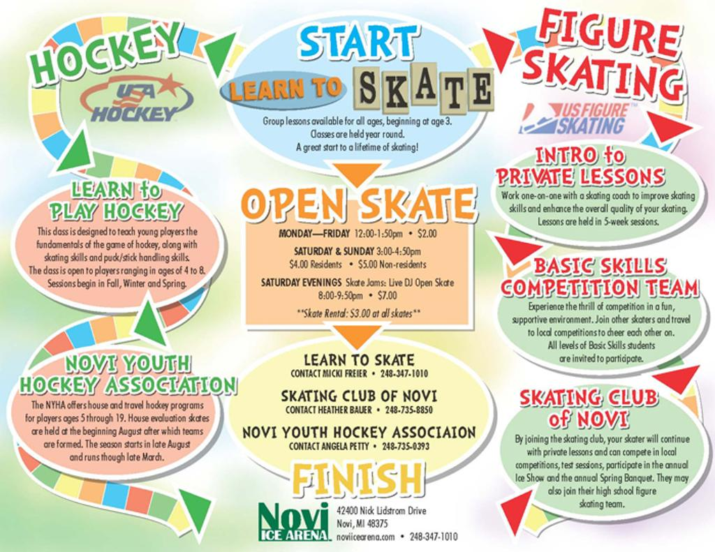 It all starts with our Learn to Skate Program!