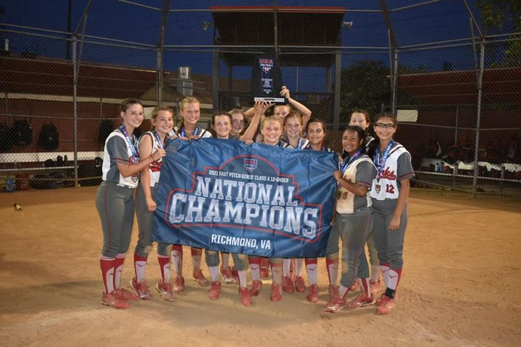 Congratulations to Sparks Red - 2021 12U A National Champs!!