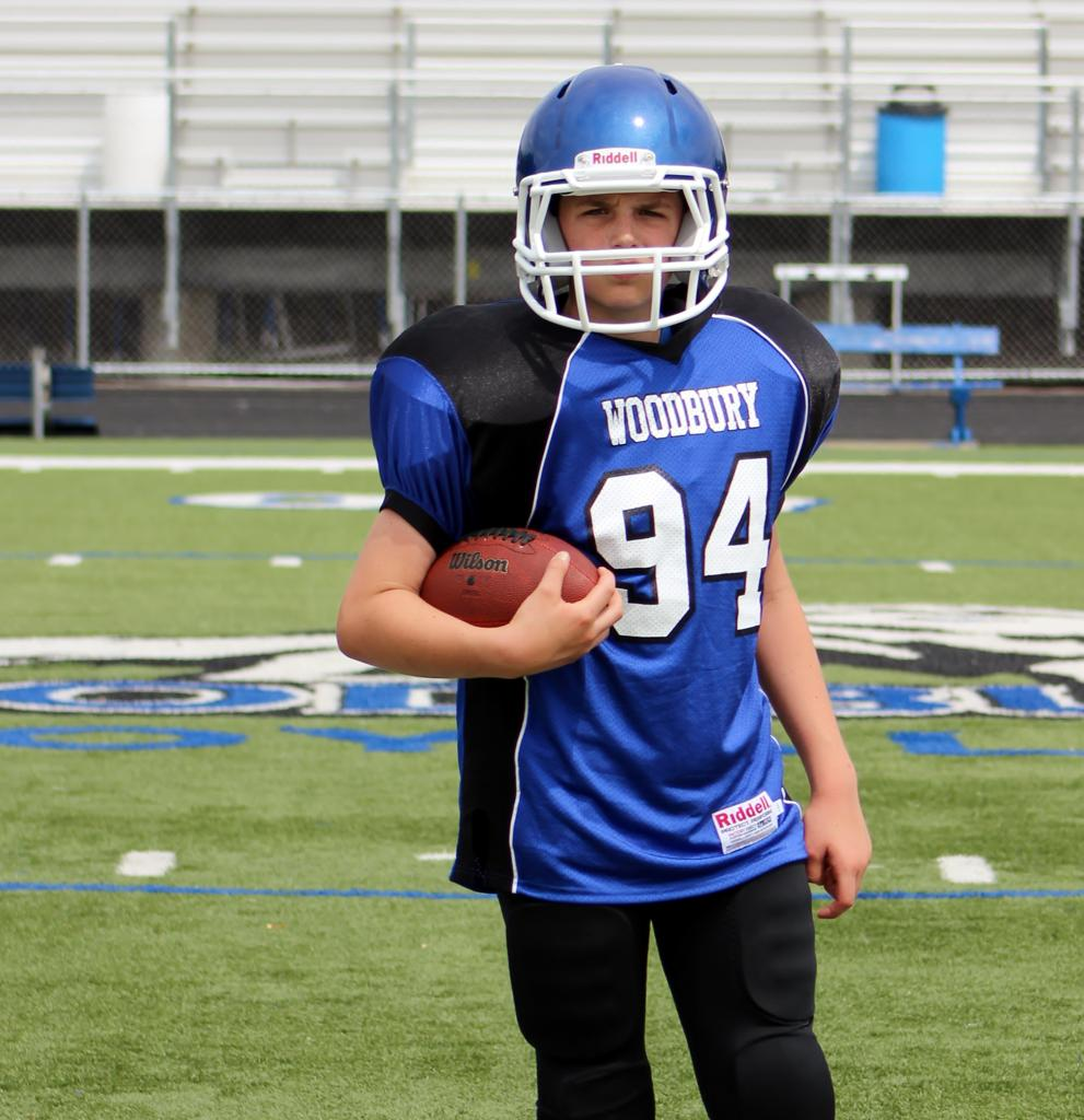 Bred Woodbury midget football googd