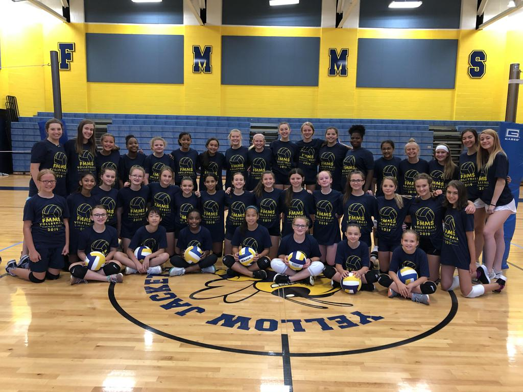 2019 FMMS Volleyball Camp
