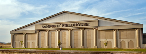 Sanford Fieldhouse outside