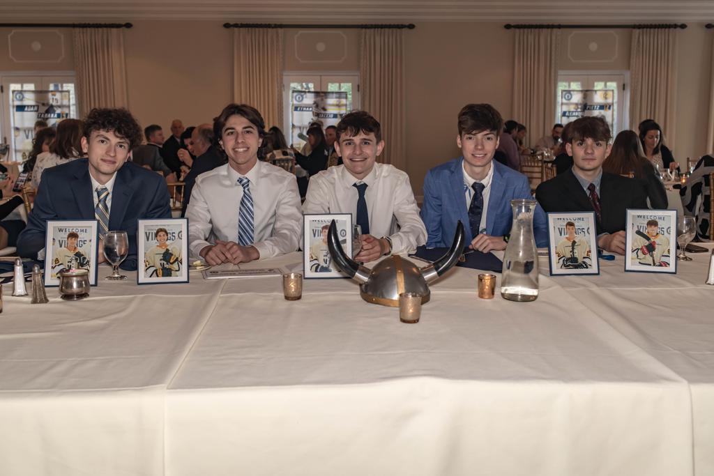 Class of 2021 at CCVHC Banquet