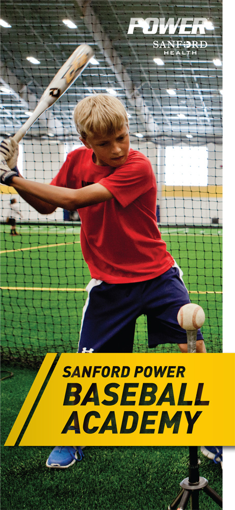 POWER Baseball Academy kid swinging