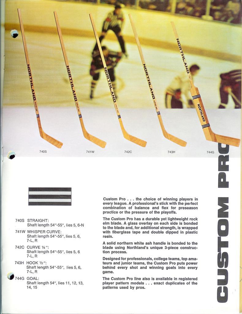 Custom Hockey Stick Curve