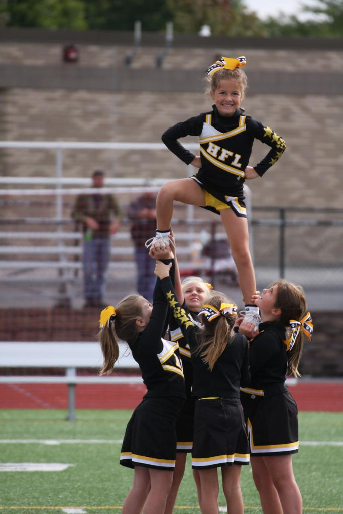 C Team Cheerleading Photos