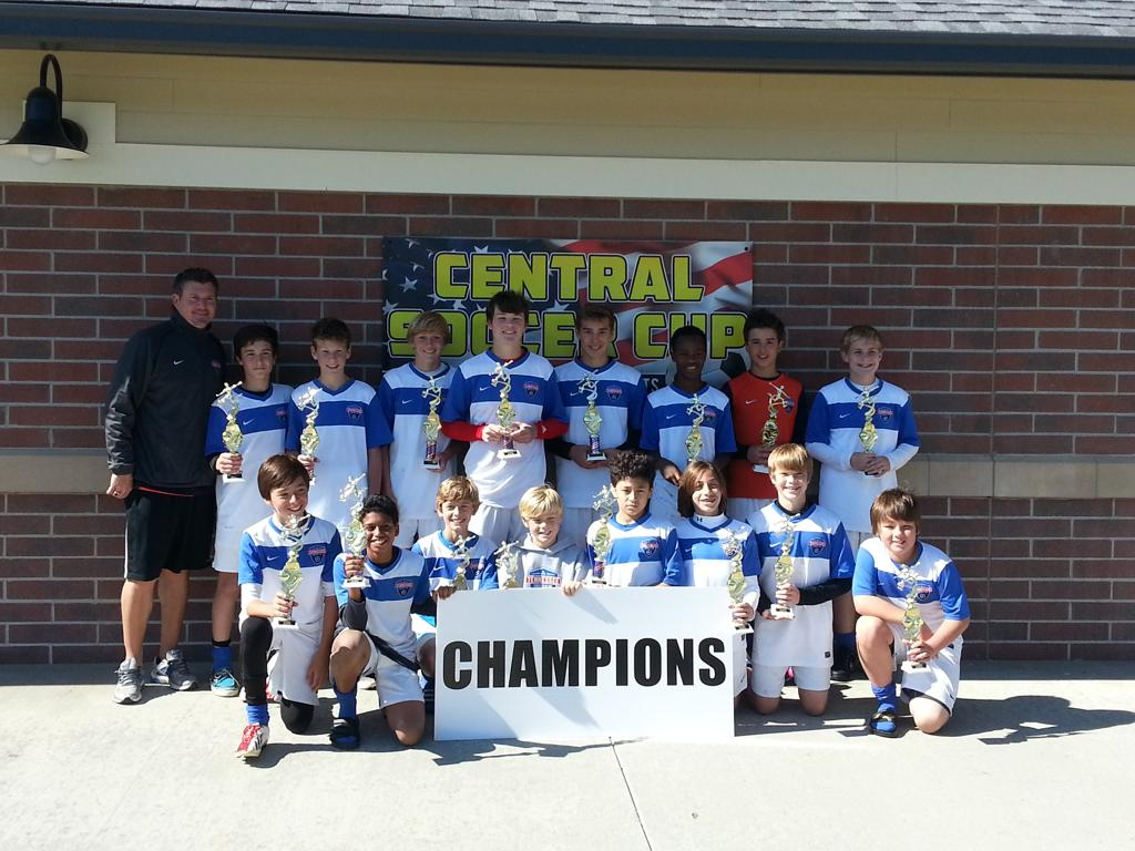 Central Soccer Cup 2013 U14 Champs