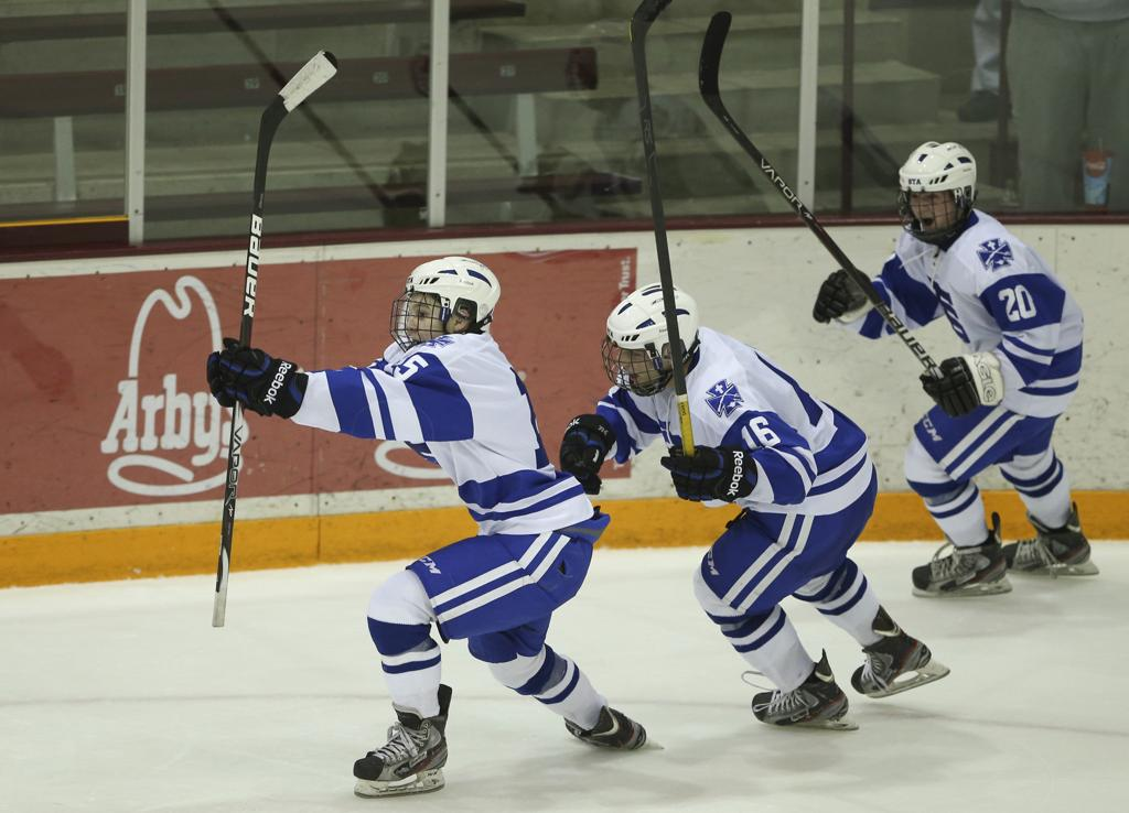 St  Thomas Academy pumped for new hockey class