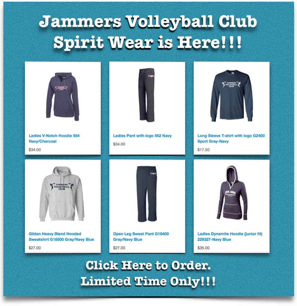 Online Spirit Wear Store is now Open!