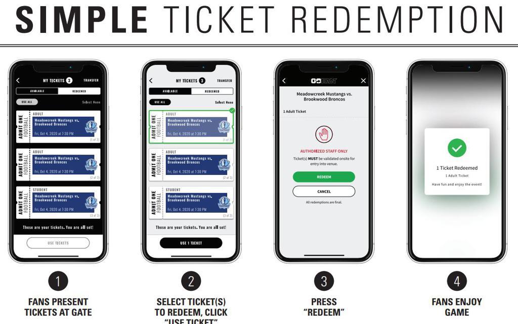 Online Ticket Redemption