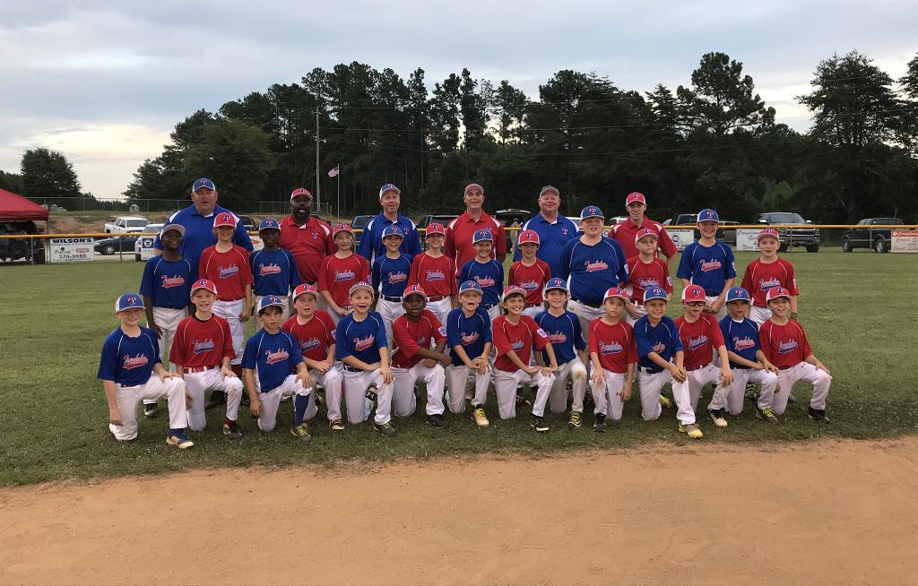 2018 Trenholm Blue and Trenholm Red Minors All Stars