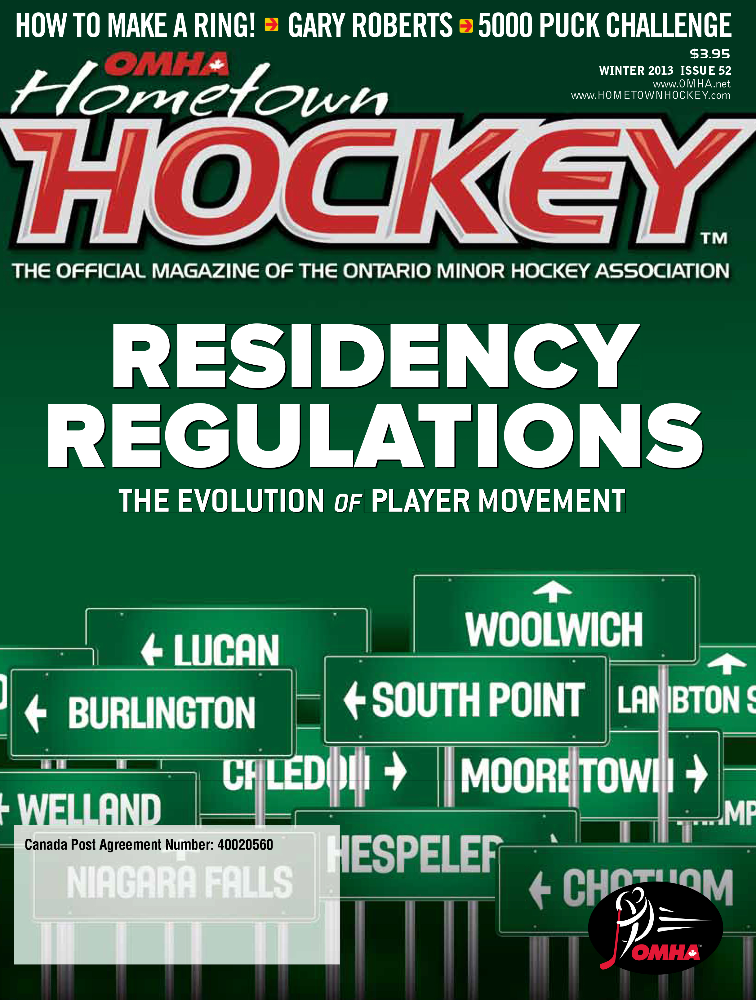OMHA Hometown Hockey Winter 2013