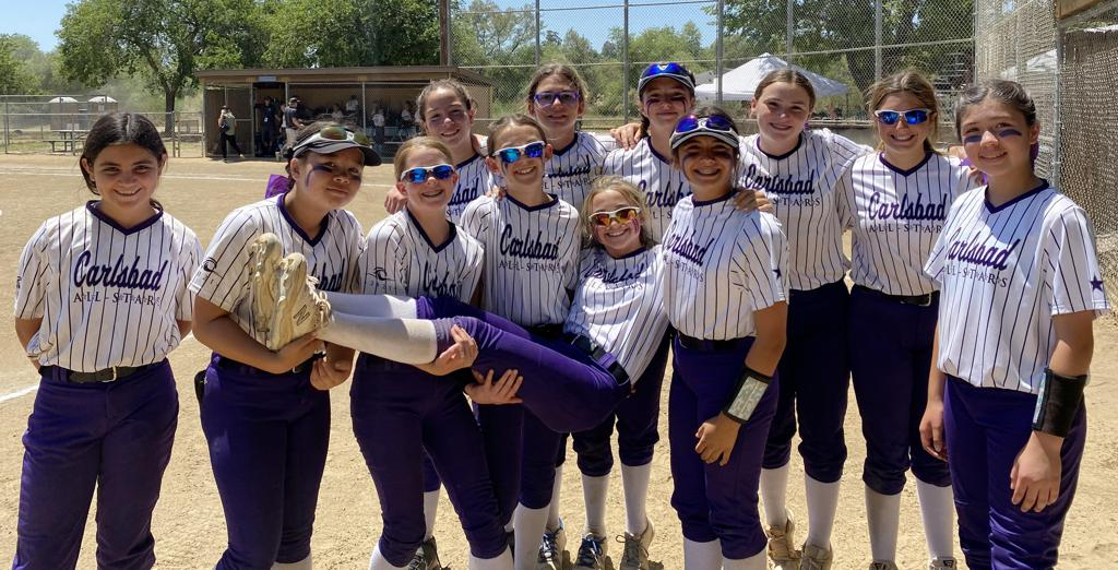 Congrats to Carlsbad 12U Gold — 4th Place Finish — 2021 North San Diego B District Tournament — Good Luck at State!