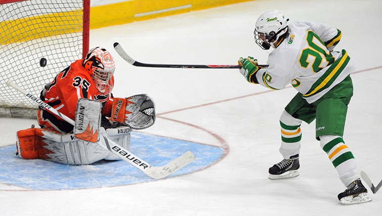 MN H.S.: Masterman's OT Goal Lifts Edina Past Grand Rapids, Malmquist (pictured) Also Tallies