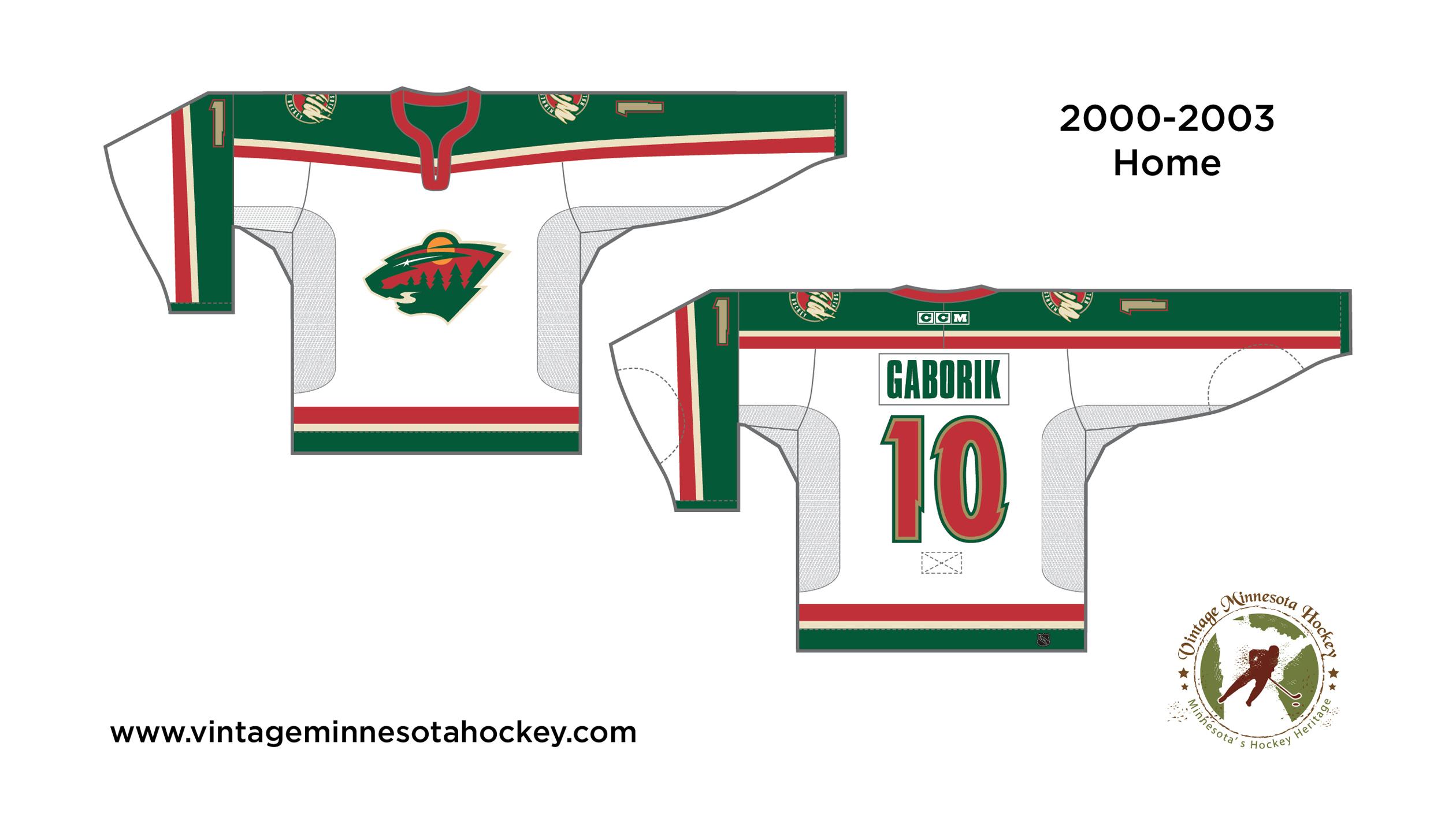 size 40 80d34 92a6e Minnesota Wild Uniform Evolution (2000-Present)