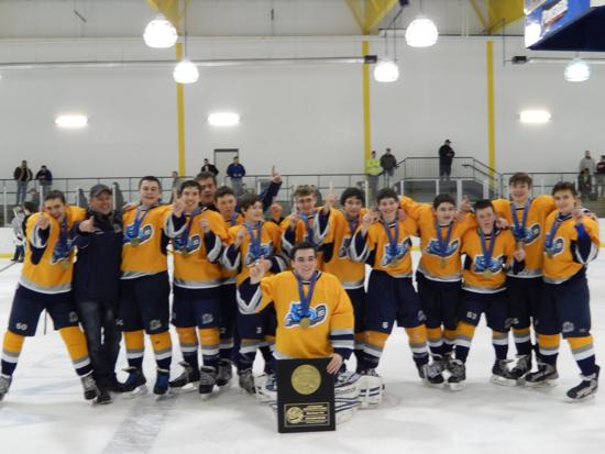 Pittsburgh Midwinter Classic 2014 Bantam AA Champions (2-1 in OT)