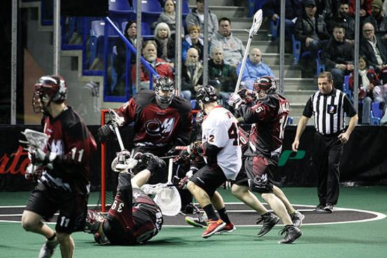 The Vancouver Stealth (2-6) visit the Colorado Mammoth (4-5) at Pepsi Center on Friday at 9pm ET. (Photo: Dan Brodie)