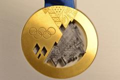 Sochi gold medal small