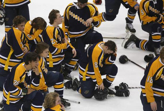 MN H.S.: Scoggins - Joy And Pain In Class 1A Boys' Hockey Final