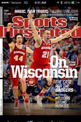 JOSH GASSER ON THE COVER OF SPORTS ILLUSTRATED