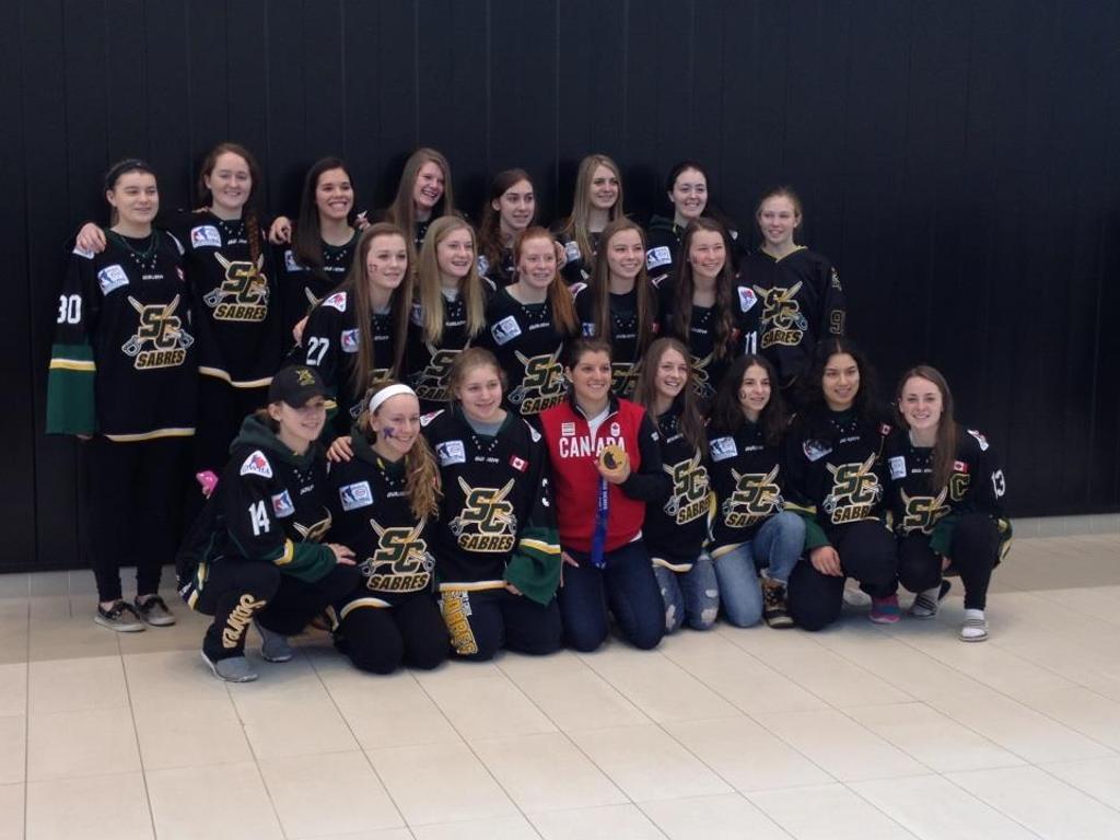 OWHA Provincial Championships, Tournaments, Midget Girls