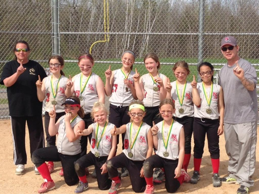 North Area 10U Chisago Lakes Silver Bracket Champs