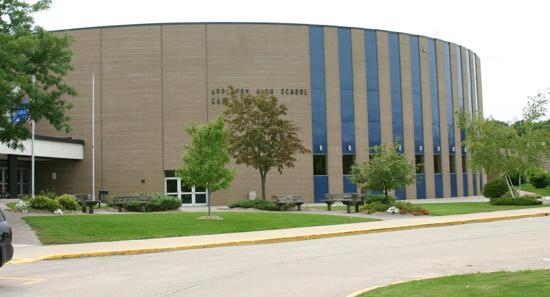 Appleton east high school for North fond du lac swimming pool
