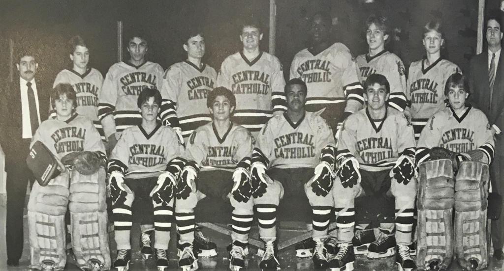 CCVHC Varsity Team, 1984-85