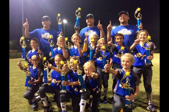 8U SIlver CRUSHERS Champions in Camarillo!