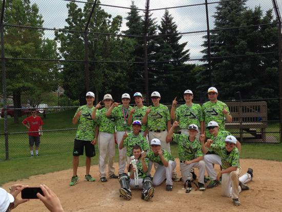 13u Deerfield Wooden Bat Tournament Champions