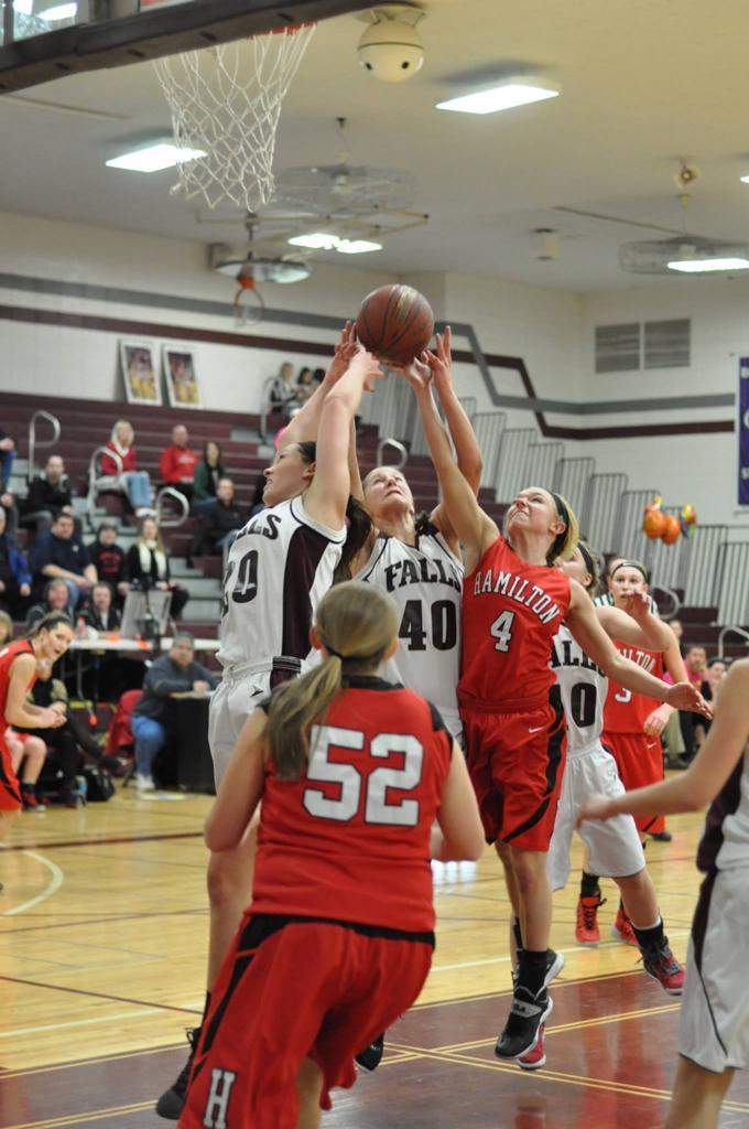Falls Hamilton Girls Basketball