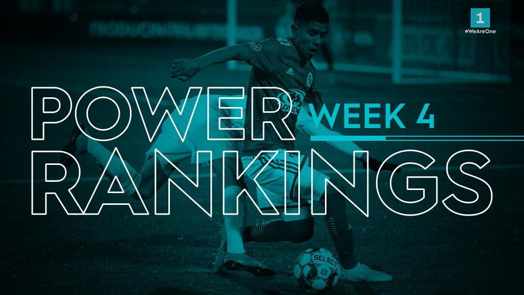USL League One Power Rankings Week Four